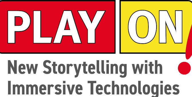 Logo Play On – New Storytelling with Immersive Technologies